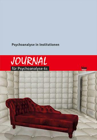 Ansehen Psychoanalyse in Institutionen